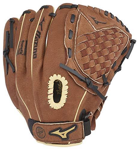 Mizuno GPP1100Y3 Prospect Series PowerClose Baseball Gloves, 11', Left Hand