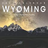 Wyoming Calendar 2022: Gifts for Friends and Family with 12-month Monthly Calendar in 8.5x8.5 inch