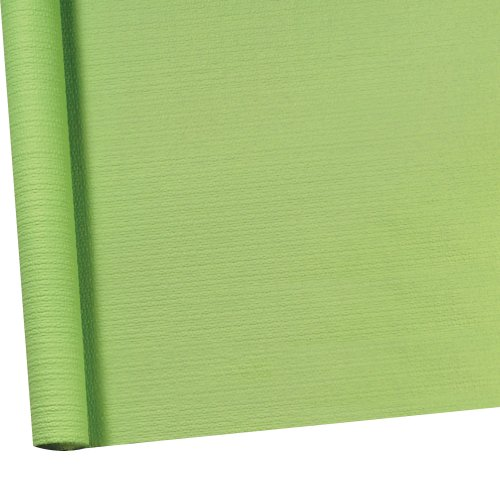 Susy Card 11096310 Tischtuchrolle, Papier, bedruckt, 1.18 x 7 m, geprägt lindgrün