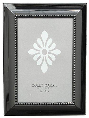 Molly Marais Rahmen Metall Alte Silber (Déco Dänische)–10x 15cm