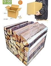 No9 針葉樹の薪 宅配約100サイズ段ボール箱入り 薪の長さ約35cm 【産地】長野県