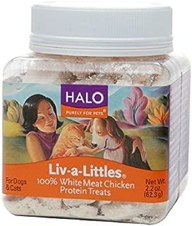Halo Liv-a-Littles Freeze Dried Chicken Treats 2.2oz each (2-pack)