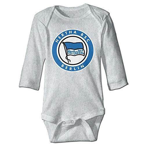 SDGSS Babybekleidung Bodysuits Baby\'s Hertha BSC Climbing Clothes Bodysuit Long Sleeve