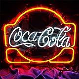 CoCa Cola Neon Signs LED Luz de neón, para bar, billar, hogar, hotel, playa, cóctel, espacio de ocio
