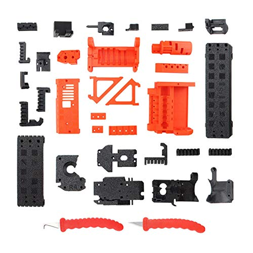 Docooler PETG Material Printed Parts with Scrapers Compatible with Prusa i3 MK3S MK2.5S MMU2S DIY 3D Printer Accessories