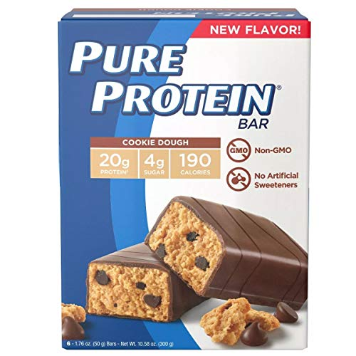 Pure Protein Bar Cookie Dough Bar - 6ct