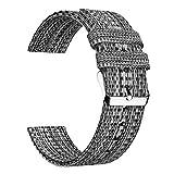 Ullchro Nylon Correa Reloj Calidad Alta Correa Relojes del - 16mm, 18mm, 20mm, 22mm, 24mm Correa Reloj con Hebilla de Acero...