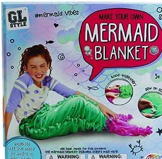 GL Style Make Your Own Mermaid Blanket Set