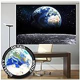 Great Art XXL Poster – Blick auf die Erde aus dem Weltall