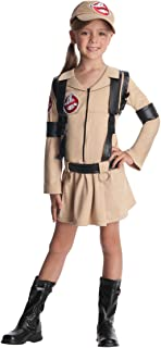 Rubie's Official Girl's Ghostbusters Dress Child Costume with Backpack - Medium