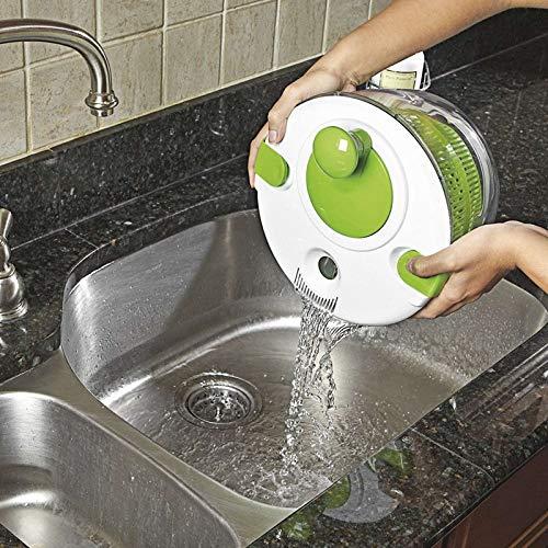 NOBRAND Desagüe de la Cocina CCI 3 PCS Verduras Frutas del cazo de Drenaje Herramientas de Cocina Cesta escurridor