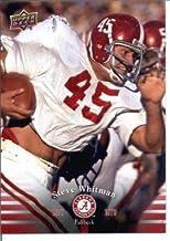 Best 2012 Upper Deck University of Alabama Football Card IN SCREWDOWN CASE #36 Steve Whitman MINT Reviews