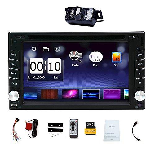 CD GPS Reproductor de DVD Autoradio Multimedia Automotive Parts 3D Electrónica de Radio Auto 2 DIN en el Tablero de MP3 estéreo de música de Unidad Principal del Coche en la Cubierta Insignia del co
