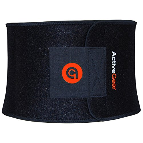 ActiveGear Waist Trimmer Belt for Stomach and Back...