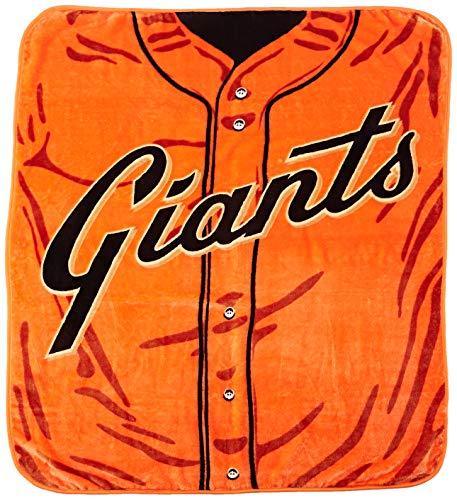 The Northwest Company MLB San Francisco Giants Jersey Manta Raschel, 127 x 152 cm