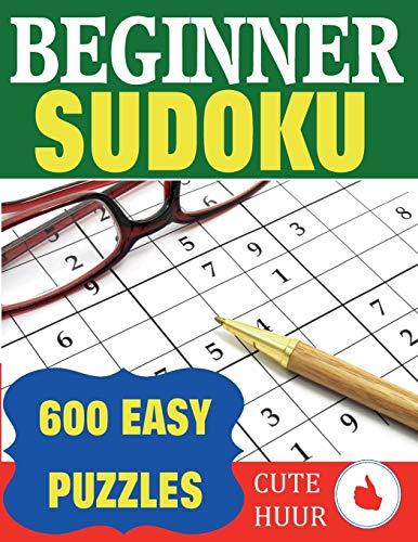 Beginner Sudoku: 600 Easy Puzzles (Sudoku for Beginners)