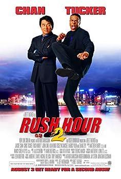 RUSH HOUR 2 MOVIE POSTER 1 Sided ORIGINAL FINAL 27x40 JACKIE CHAN CHRIS TUCKER