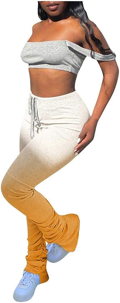 Hessimy Womens Sweatpants Joggers,Women's Active Workout Joggers Drawstring Lounge Pants Colorblock Casual Sweatpants