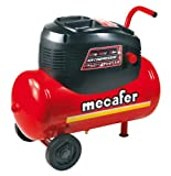 Mecafer 425068 - Compresor de aire (1100 vatios) color Rojo