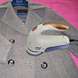 Panamami Suéter de Tela eléctrico para el hogar, removedor de Pelusa, Abrigo de Ropa, recortador de Bolas de Pelo, Blanco y Morado