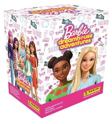 Barbie Dreamhouse Adventures- Caja 50 Sobres, Multicolor, Normal (Panini España, S.A