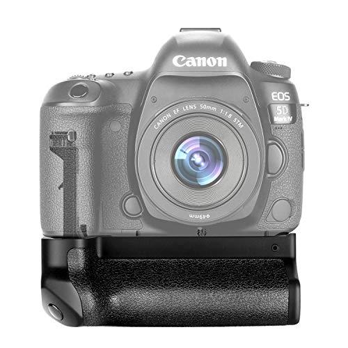 Neewer Empuñadura Grip de Batería para Canon BG-E20 funciona con la batería LP-E6 o batería LP-E6N para cámara réflex digital de Canon EOS 5D Mark IV DSLR