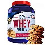 100% Whey Protein con Probioticos Lactospore, American Suplement, 2kg, cookies and cream