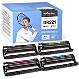 myCartridge SUPRINT Remanufactured Drum Unit Replacement for Brother DR221 DR221CL DR-221 use with HL-3140CW HL-3170CDW MFC-9130CW MFC-9330CDW MFC-9340CDW Printer 4 Pack (Black Cyan Magenta Yellow)