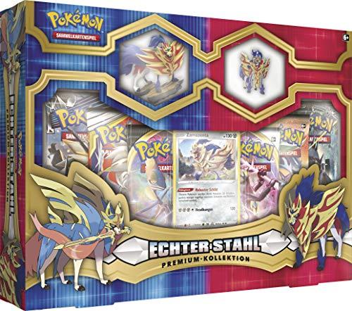 CAGO Pokemon - Echter Stahl Premium Kollektion - Zamazenta Box - Deutsch