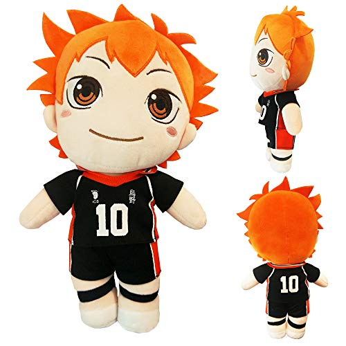 Augwindy Plush Toy Plushie Doll Great Gift Choice for Anime Fans of Number 10 from High School 11-inch