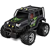 SHARPER IMAGE RC All Terrain Phantom Destroyer Toy Car, Off Road Action Rugged Roll Bar Design, Quick Response 2.4 GHz Wireless Remote Control, Built-in Radio Frequencies for Racing, Great for Kids