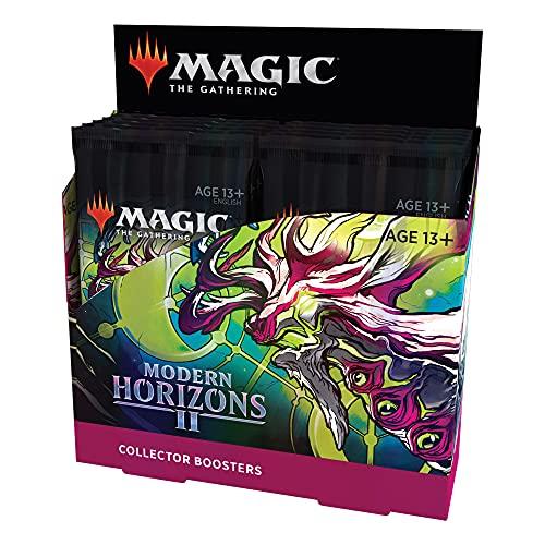 Caixa de Booster de Colecionador de Magic: The Gathering Modern Horizons 2 | 12 boosters (180 cards de Magic) - Em Inglês