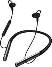 Active Noise Cancelling Earbuds AMZLIFE Bluetooth Neckband Headphones, with Mic and Magnetic Wired Earbuds in Ear18H Playing, Sweatproof Deep Bass for Travel,Running,Cycling,Work