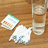 SUCAN Precision PH Test Strips Short Range 0.5-5.0 Indicator Paper Tester 100 Strips Boxed w/Color Chart