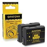 2x Batería EN-EL14 para Nikon D3100 | D3200 | D5100 | D5200 | P7000 | P7100 | P7700