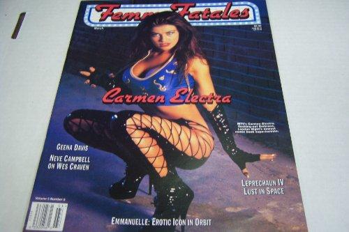 Femme Fatales Magazine 'Carmen Electra' Vol. 5 #9 March 1997