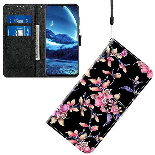 Jamitai Klapptasche für Handy Meizu M5 Hülle Leder Handytasche Handyhülle Brieftasche Hüllen Hülle mit Kartenfach & Ständer/ZMT01P-0B