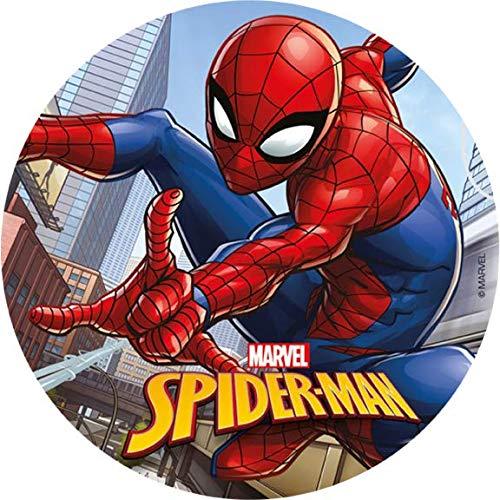 Tortenaufleger Spiderman Dekora 114367 / 20 cm Ø