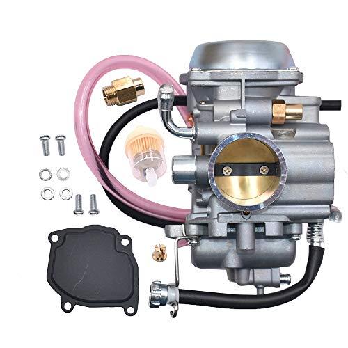 JDLLONG Carburetor Fits 1998-2002 Suzuki Quadrunner 500 LT-F500F LTF500F 4X4 Carb Carburetor