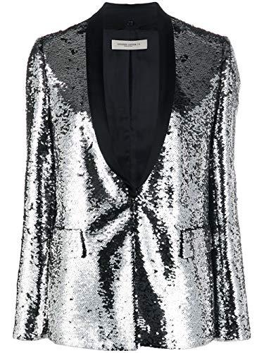 Golden Goose luxe mode dames G36WP114A1 zilveren blazer | Lente zomer 20 - - 38