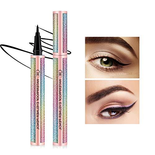 Onlyoily Noir Waterproof Liquid Eyeliner Eye Liner Pencil Stylo Liquide Eyeliner Precision Séchage Rapide