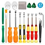 ✔ 【Universal Compatibility】-This 17in1 tri-wing screwdriver repair tool kit is designed to serve modern Nintendo products and other game devices, such as Nintendo Switch, New 3DS/2DS XL, NES,SNES, Wii, NDS, NDSL, DS Lite, GBA, Gameboy Advance. 17 dif...