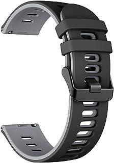 DALIN Cinturino per Huawei Watch GT2/Samsung - GalaxyWatch3/-AmazfitGTR Cinturino in Silicone
