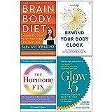 Brain Body Diet [Hardcover], Rewind Your Body Clock, The Hormone Fix,...