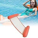 CINSEY Zusammenklappbar Aufblasbares Schwimmbett, Wasserhängematte,ungesessel Pool Lounge...