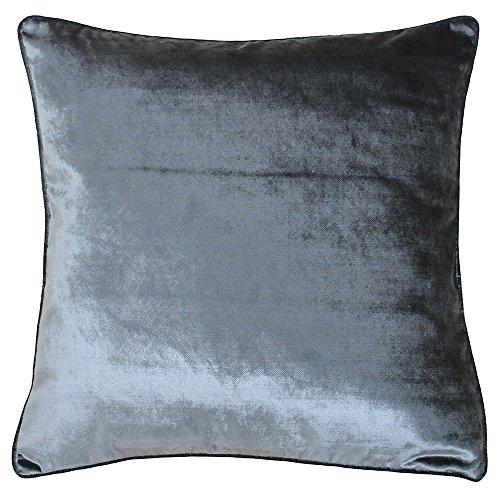 Paoletti Luxe Velvet 55X55 C/CASE ANTHRAC, Polyester, Anthrazit, 55x55cm