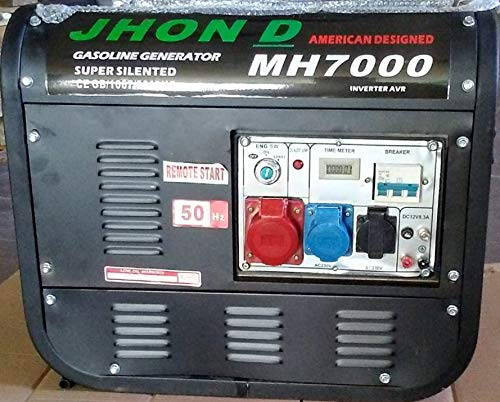 UNITED TRADE Stromerzeuger HP 6.5 Elektrostart mit Schlüssel und Fernbedienung