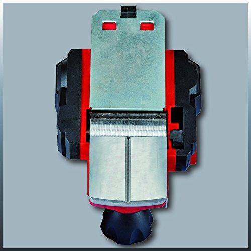 Einhell Rabot électrique TC-PL 750 (750 W, Largeur de rabotage 82 mm, Prise en main sûre et confortable, Livré avec une butée parallèle, une butée de profondeur, un fer CT)