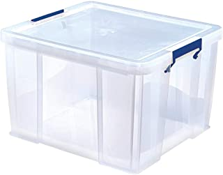 Bankers Box 7730901 Prostore Plastförvaringslåda, Genomskinlig, 48 L