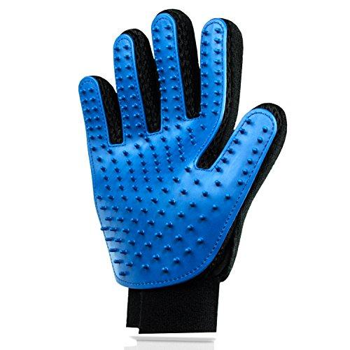 Hochwertiger Fellpflege-Handschuh zur einfachen Entfernung loser Tierhaare - Wie eine Massage für Hund & Katze
